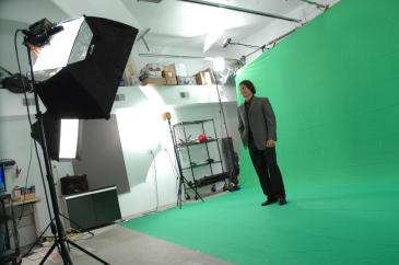 Large studio for green screen video and photography (Copy)